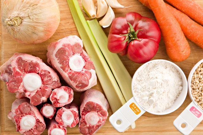 cách nấu bò gân ăn bún
