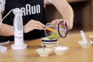 Cách làm các món ăn dăm đúng cách cho bé 6 đến 7 tháng