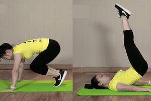Bài tập giảm mỡ bụng dưới đơn giản nhanh nhất tại nhà cho các nàng