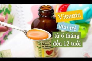 Vitamin Cho Trẻ Em,childlife Multivitamin And Mineral, Vitamin Tổng Hợp Cho Trẻ 6 Tháng Đến 12 Tuổi,
