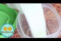 Cách làm bột gạo cực đơn giản