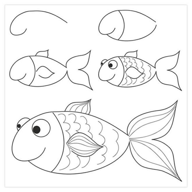 Cùng tham khảo những cách vẽ hình con vật cực kỳ đơn giản dưới đây nhé