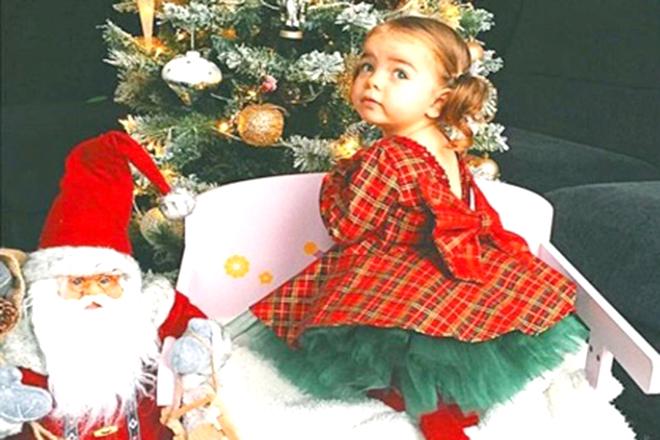 Đầm Noel cho bé gái - Những mẫu đầm hot nhất 2019